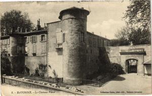 CPA Bayonne -  Le Chateau Vieux (162952)