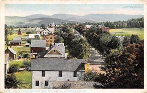 Bethlehem New Hampshire~Birdseye View Main Street~Homes~1910 Detroit Pub Co