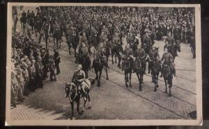 Mint Belgium RPPC Postcard Solemn Funeral Of HM Queen Astrid