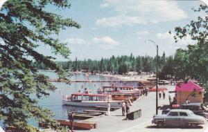 PRINCE ALBERT NATIONAL PARK, Saskatchewan, Canada; View of the Lake front at ...