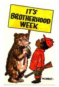 It's Brotherhood Week