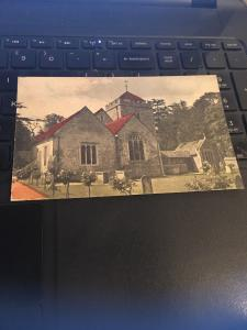 Vintage Postcard:  Church and Grounds, Unknown