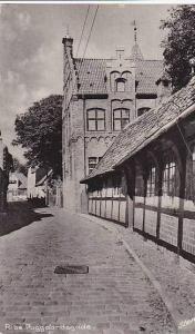 Ribe , Denmark , Puggaardsgade, 1910s