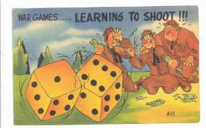War Games....Learing to Shoot!!!, Dice , 30-40s