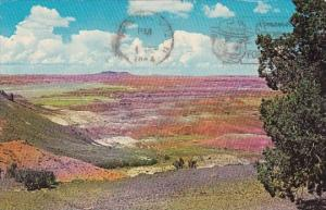 Arizona Phoenix Colorful Painted Desert 1964