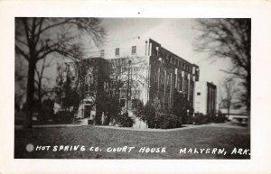 LPCH22 Malvern Arkansas Hot Springs County Court House RPPC