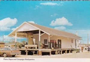 Georgia Plains Railroad Depot and Jimmy Carter Campaign Headquarters