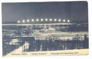 Fairbanks Alaska  Winter Solstice , 1977