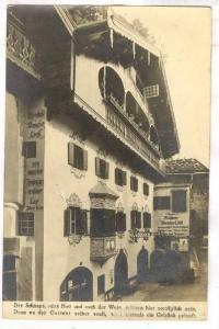 RP; Erstes Kusteiner Weinhaus, Auracherlochel, Tirol, Austria, PU-1926