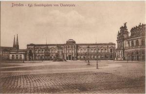 Dresden Germany Gemaldegalerie Theaterplatz 01.18