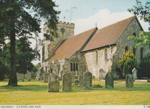 Hellingly Church Saint Peter & Paul Sussex Postcard