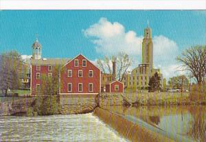 Rhode Island Pawtucket Slater Mill and City Hall