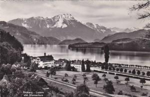 RP, Panorama, Seeburg- Luzern Und Stanserhorn, Luzern, Switzerland, 1920-1940s