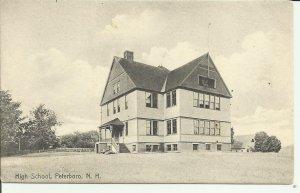 Peterboro, N.H., High School    Rotograph