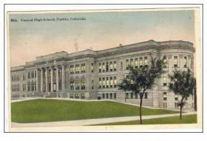 Central High School, Pueblo, Colorado, 1923