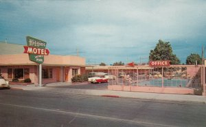 LAS VEGAS , Nevada , 40-60s ; Higgins Motel,  Swimming Pool