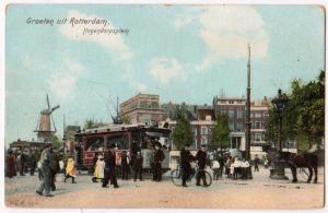 Groeten uit Rotterdam, Hogendorpsplein