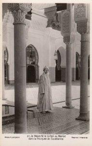 RP: CASABLANCA , Morocco , 1930s ; Sa Majeste le Sultan du Maroc