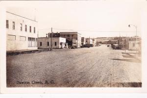 RP: DAWSON CREEK, British Columbia, Canada, 20-30s; Main Street
