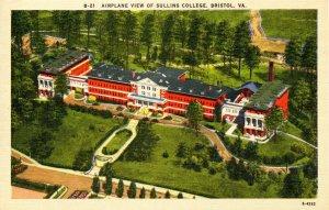 VA - Bristol. Sullins College, Aerial View