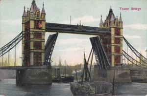 Tower Bridge, Elevated Bridge, Ships, LONDON, England, 00-10's