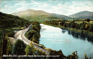 New Hampshire White Mountains View On The Connecticut River Above Lancaster 1907