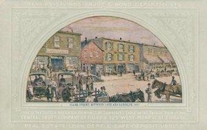 CHICAGO, Illinois, 1900-10s ; Clare Street, Between Lake & Randolph, 1857