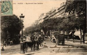 CPA Paris 9e - Boulevard des Italiens (273793)