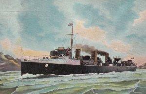 UK Warship , 1907