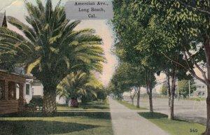 LONG BEACH , California , 1915 ; American Avenue