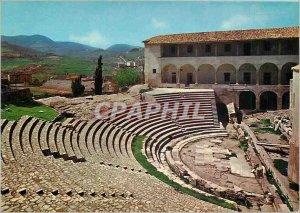 Postcard Modern Spoleto Theater Romain