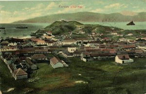 PC CPA CABO VERDE / CAPE VERDE, FORTIM D'EI-REI, Vintage Postcard (b26726)