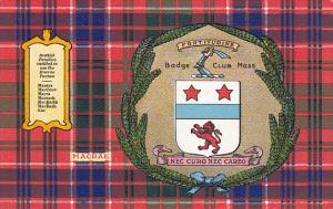 Tarton & Clan Coat of Arms , SCOTLAND , 00-10s ; Clan MacRae