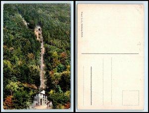 SWITZERLAND Postcard - Interlaken, Harderbahn FF