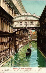 CPA Venezia Ponte dei Sospiri . ITALY (496915)