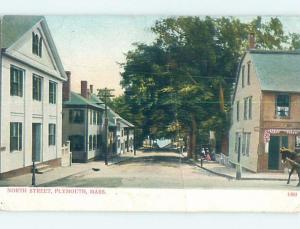 Pre-1907 HOUSES ON NORTH STREET Plymouth Massachusetts MA A0072
