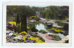 Color RPPC of Rock Garden of Hamilton Ontario, Canada