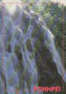 Micronesia Waterfall On Pohnpei