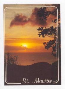 View Of Sunset From Paradise Peak,Sint Maarten,40-60s