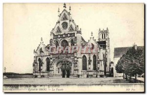 Postcard Ancient Church of Brou The Facade