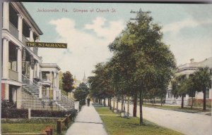 Florida Jacksonville Glimpse Of Church Street sk2376