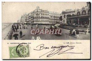 Old Postcard Ostend East Dyke