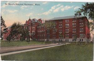 Minnesota Rochester St Mary's Hospital 1913