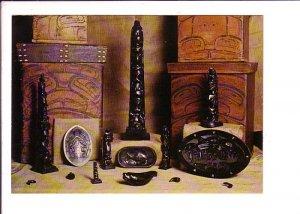 Argillite Carvings, Museum of Northern, Prince Rupert, British Columbia