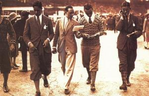 Postcard Nostalgia 1926 Sporting Fashion Reproduction Card