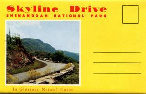 Folder - Virginia's Skyline Drive and Shenandoah Valley.  (12 views + covers ...