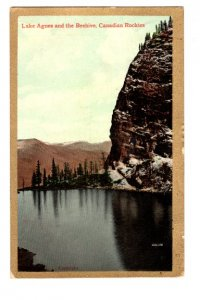 Lake Agnes and the Beehive, British Columbia, Canadian Rockies, Used 1911