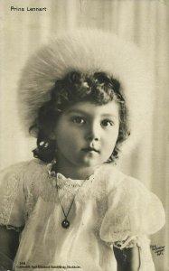 Prince Lennart, Duke of Småland (1912) Sweden Royalty RPPC Postcard