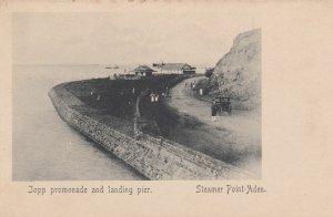 ADEN , Yeman , 00-10s ; Steamer Point , promonade & Landing pier