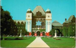 Legislative Building Queen's Park Toronto Ontario ON Ont Unused Postcard D74